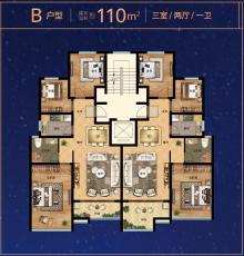 天穹·星朗苑户型图