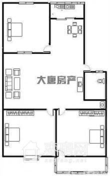 一楼   小三室   真正的一步到位的学区房