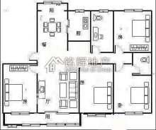 方正园 217平大四室 最好户型 送车位储藏室 最好楼层 通
