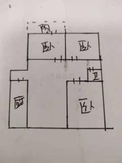 (市中)香江城3室2厅1卫130m²豪华装修黄锦8楼