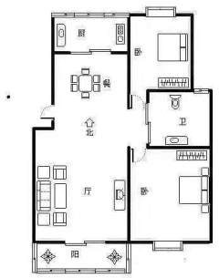 四季菁华北区3室2厅1卫