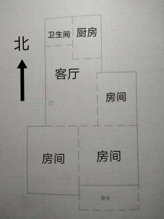 (市中)惠工二区3室1厅1卫71m²简单装修