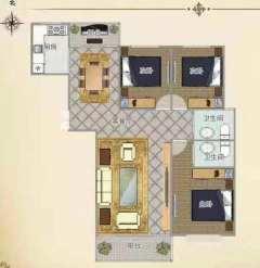 (薛城)方正园3室2厅2卫161m²毛坯房