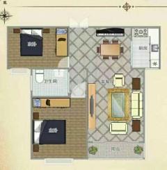 (薛城)方正园2室2厅1卫98.91m²毛坯房