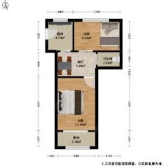 (薛城)燕山小区3室1厅1卫65m²简单装修