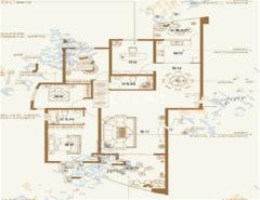 (新城)优山美地3室2厅2卫184m²豪华装修