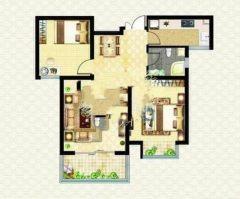 (新城)文鑫花园2室2厅1卫102.3m²简单装修