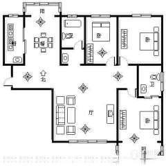 (薛城)奚仲花园3室2厅2卫139.44m²毛坯房学区房