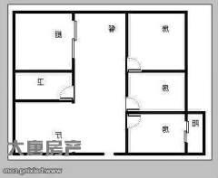 (市中)薛文西里3室2厅1卫90m²豪华装修