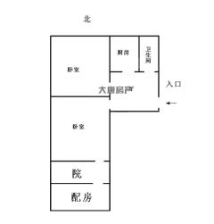 (市中)光明新村2室1厅1卫60m²简单装修