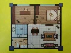 (市中)市中锦绣花城2室1厅1卫76.75m²