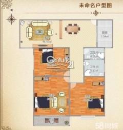 (新城)来泉山庄二期17楼可改2卫128平,已网签备案